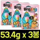 빙빙딸기 53.4g x 3개/담라/캔디/투시팝/솜사탕/사탕