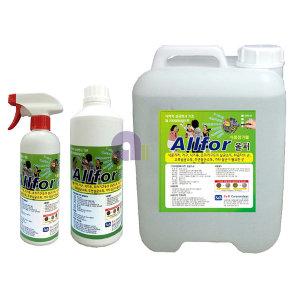 뿌리는살균소독제(올퍼)500ml 천연소독제/스프레이형