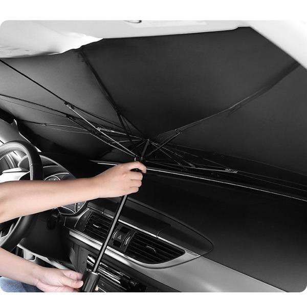 차량용 자동차 앞유리 차단 가림 우산형 햇빛 가리개