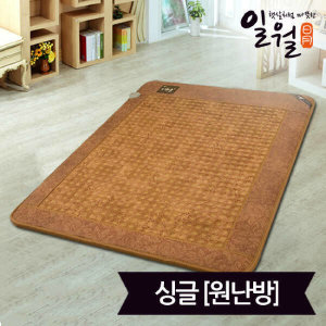 (현대Hmall)일월 개화몽 황토보료 전기매트_싱글(100x200)_디지털(원난방)