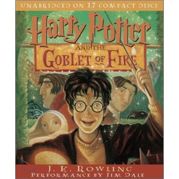 Harry Potter and the Goblet of Fire : Audio CD  J  K  Rowling  Jim Dale