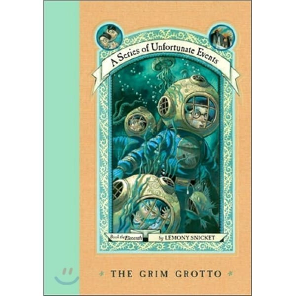 A Series of Unfortunate Events  11 : The Grim Grotto  Lemony Snicket  Brett Helquist