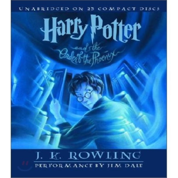 Harry Potter and the Order of the Phoenix : Audio CD  J  K  Rowling  Jim Dale (NRT)