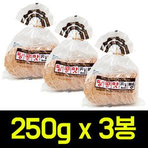 동산 땅콩맛전병 250g x 3봉/오란다/한과강정간식