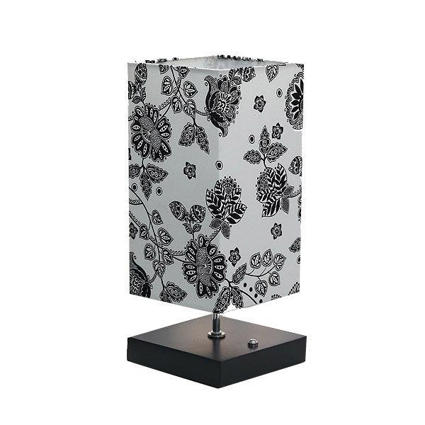 꽃송이 사각 스탠드조명 터치식센서 3단불빛조절