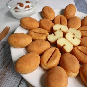 알앤알 HACCP 구운 커피콩빵 플레인맛 콩빵 100개 RNR2