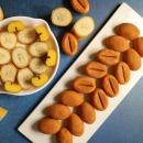 알앤알 HACCP 구운 커피콩빵 바나나맛 약100개 RNR2