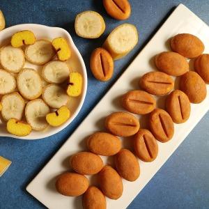 알앤알 HACCP 구운 커피콩빵 바나나맛 콩빵 100개 RNR2