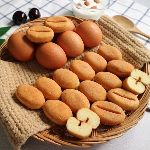 알앤알 HACCP 구운 커피콩빵 플레인맛 콩빵 200개 RNR3