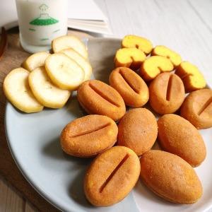 알앤알 HACCP 구운 커피콩빵 바나나맛 콩빵 400개 RNR4
