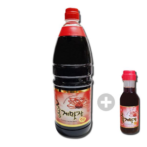 홍게맛장(홍게간장) 1.8L +200ml