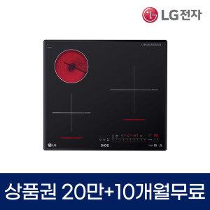 LG DIOS 전기레인지 렌탈 3구 하이브리드 BEY3GTUR