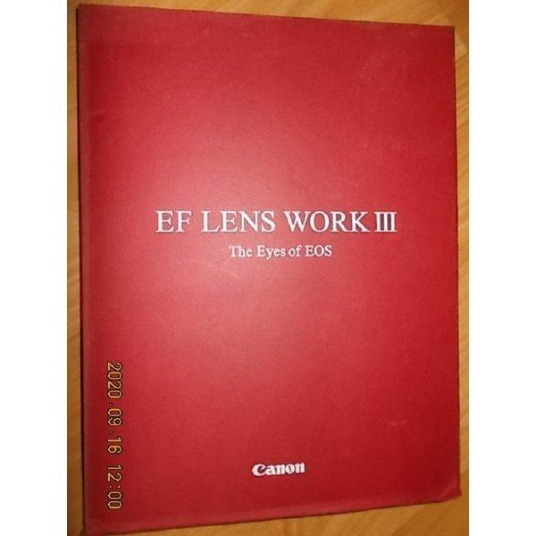 EF LENS WORK 3 -The Eyes of EOS   /(CANON/EF 렌즈 캐논/9판/하단참조)