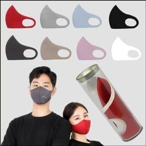 친환경 피부 트러블 없는 항균 마스크(블랙)