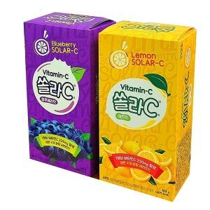고려) 쏠라씨 (80정) 레몬맛/블루베리맛 선택구매