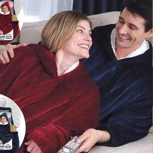 허글후디 집돌이 입는 집순이 담요 수면잠옷