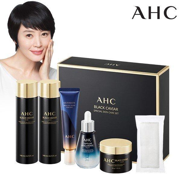 AHC 블랙캐비어 스페셜 스킨케어 기초 세트 /시즌2