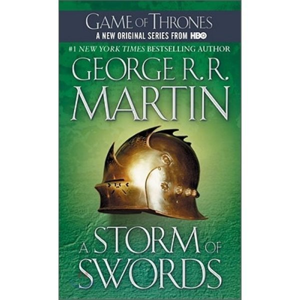 A Song of Ice and Fire  Book 3 : A Storm of Swords  George R  R  Martin