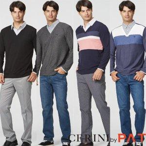 20FW  CERINI BY PAT 남성 레이어드 셔츠 4종