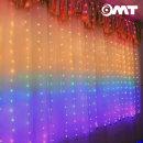 커튼 레인보우 LED 캠핑 랜턴 리모콘내장 OL-RAINBOW