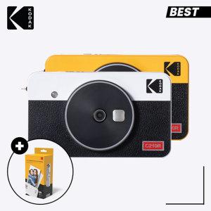 휴대용 포토프린터 미니샷 2 레트로 C210R 화이트+60매