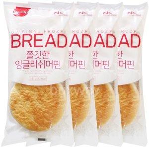 삼립 잉글리쉬머핀 4봉 /샌드위치 모닝빵 냉동빵