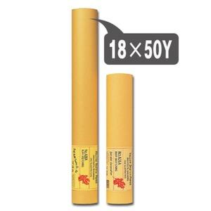 트레싱지연습용(18x50Y 노랑) 제도용지 설계용지 사무