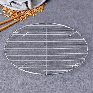 스텐 돈까스망 튀김망 원형 4호