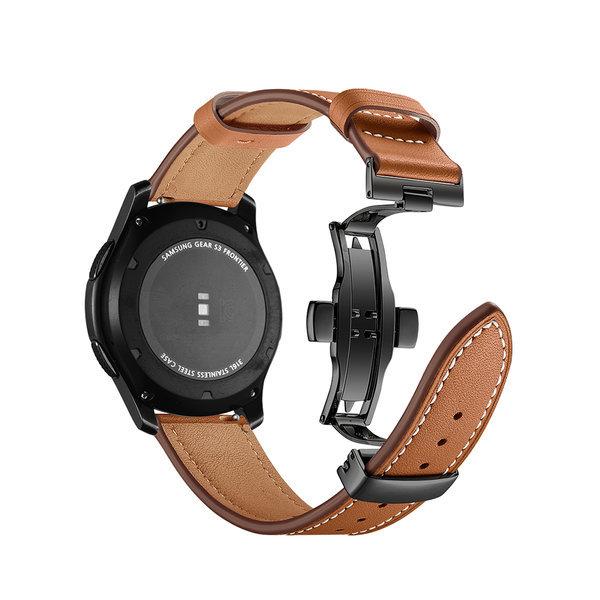 신형 갤럭시 워치3 디버클 시계줄 가죽스트랩 20-22mm