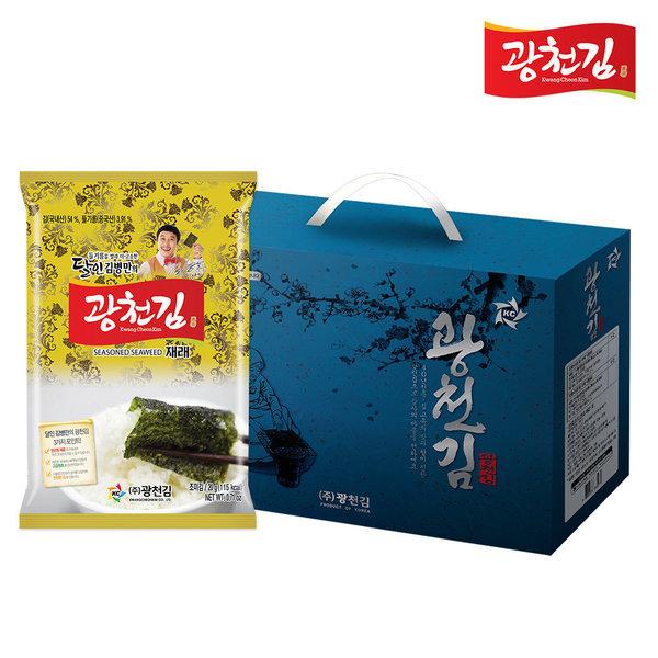 달인 김병만의 광천김 선물세트 30-1호