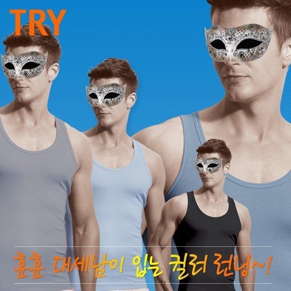 트라이  국민속옷트라이   남) 컬러 런닝/TMRSB50