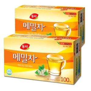 동서식품 메밀차 100T+100T (무료배송)