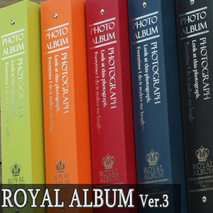 액자엠  Color Album Ver.3 대용량50매 사진앨범 접착or포켓