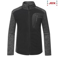JDX골프스포츠  (남성)폴라플리스 우븐믹스 점퍼_X3PWWJM01-BK