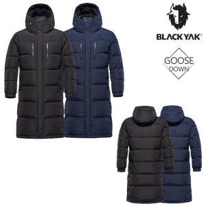 블랙야크  한겨울 남녀공용 구스 롱 벤치파카 다운자켓 L브라키3벤치다운자켓-IBON-