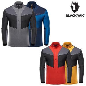블랙야크  가을/겨울 남성용 간절기 등산기능성 티셔츠 M질럿A티셔츠-1-IBON