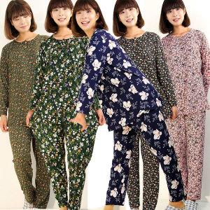 따뜻한 기모터치 상하세트 여성잠옷/홈웨어/엄마옷