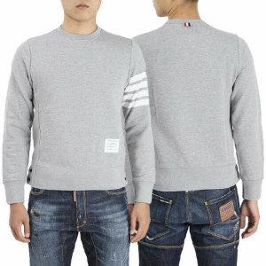 (현대Hmall) 톰브라운  MJT021H 00535 068 남성 사이드버튼 맨투맨 티셔츠