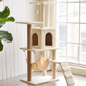빈샵 고양이 캣타워 하우스 집 방석 쿠션 스크래쳐