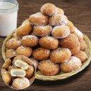 수제 생도너츠(설탕가루) 1kg/ 도넛 간식 당일생산