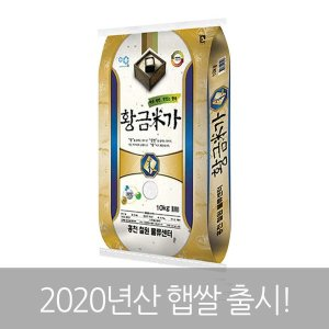 황금미가 쌀 10kg 20년산 햅쌀 (당일도정)