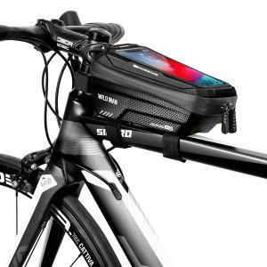 자전거 프레임 휴대폰 거치대 가방 탑튜브 수납