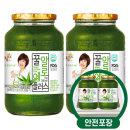 꽃샘 꿀알로에차 1kg + 1kg /액상차/안전포장