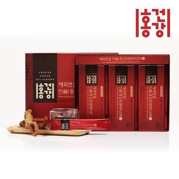 2+1 해피한삼 진 홍삼정 원데이스틱 10gx30 선물세트