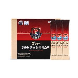 진웰스 6년근 홍삼농축액스틱10g x 30포/하루스틱