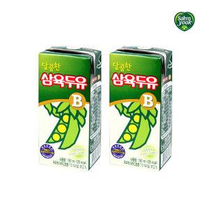 삼육 달콤한맛B 두유 190ml 32팩
