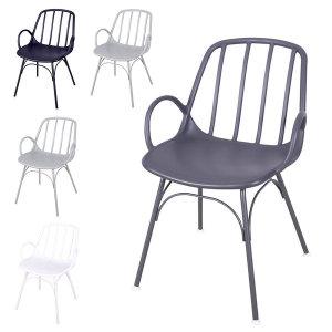 에스토 체어 플라스틱 카페 인테리어 디자인 식탁의자
