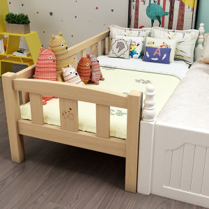 심플한 디자인 원목어린이침대 옵션1 200X120X40