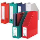 문화 F190-7 A4 종이화일박스 낱개 책꽂이 서류보관