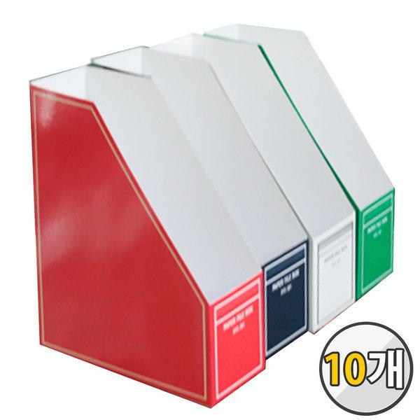 RFB-301 종이화일박스 10개 묶음 파일박스 라인 문서
